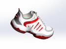 球鞋模型 3D模型 图2
