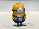 小黄人 3D模型 图1