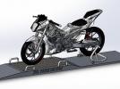 摩托车 3D模型 图1