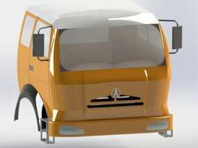 车头 3D模型