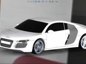 奥迪 3D模型