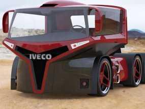 概念车头 3D模型