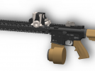 半自动步枪 3D模型 图1