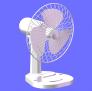 台式风扇 3D模型 图1