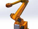 机械手臂 3D模型 图1