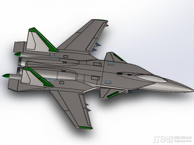 苏-34 3D模型  图2