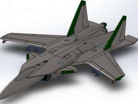 苏-34 3D模型