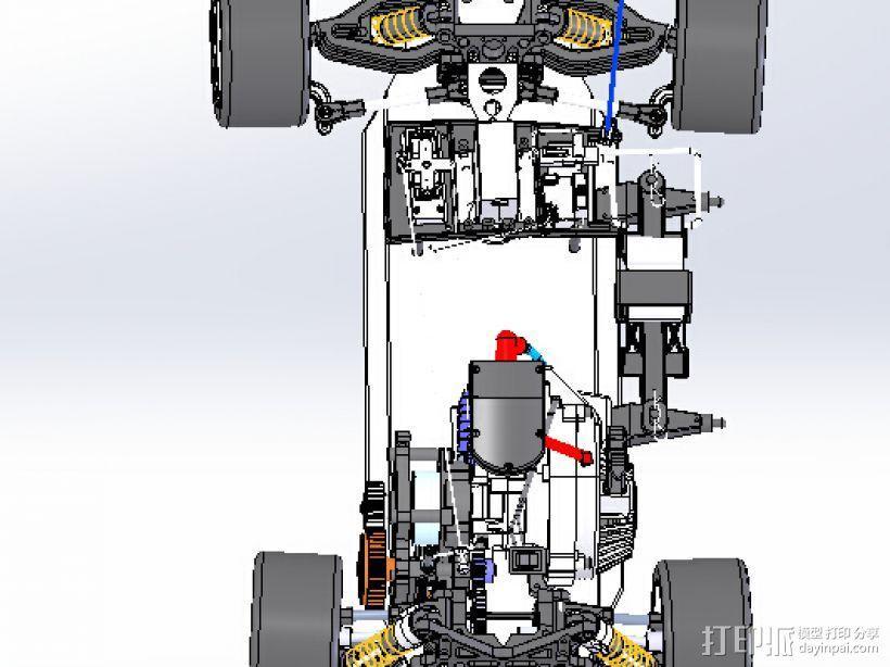 遥控玩具赛车 3D模型  图1