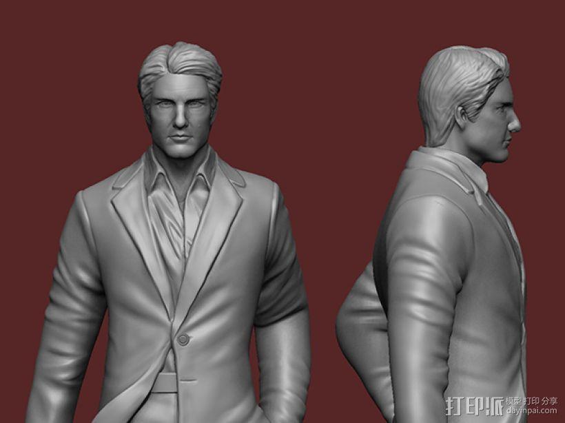 《碟中谍5:神秘国度》之伊桑·亨特(汤姆克鲁斯) 3D模型  图4