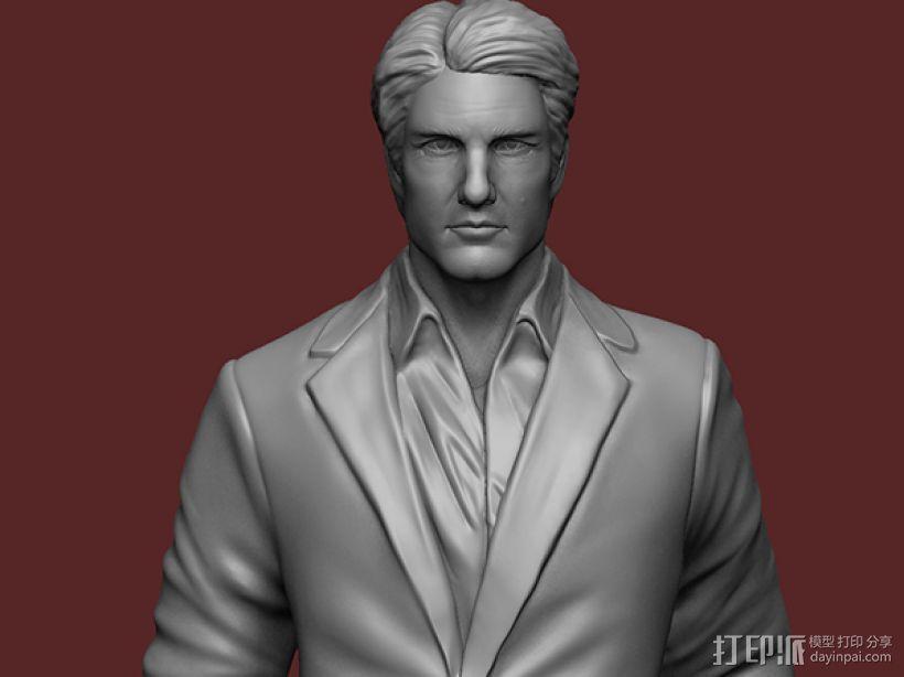 《碟中谍5:神秘国度》之伊桑·亨特(汤姆克鲁斯) 3D模型  图2