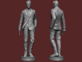 《碟中谍5:神秘国度》之伊桑·亨特(汤姆克鲁斯) 3D模型