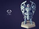 机甲原创设计-圣裁骑士-3D打印原创模型 3D模型 图8