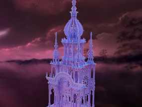 大钟楼 3D模型