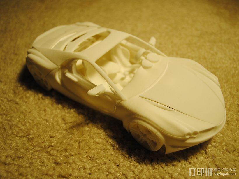 汽车组合 3D模型  图1