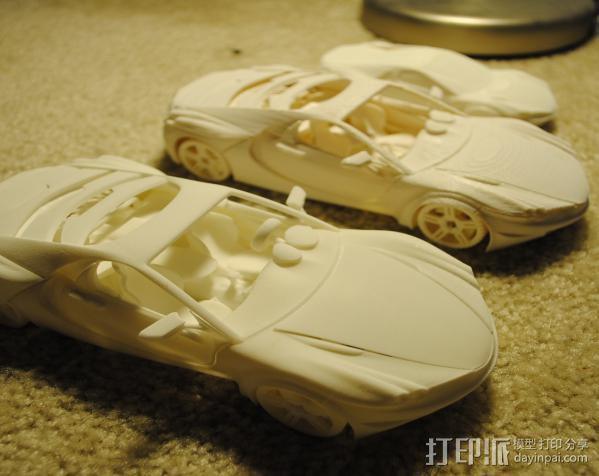 汽车组合 3D模型  图2