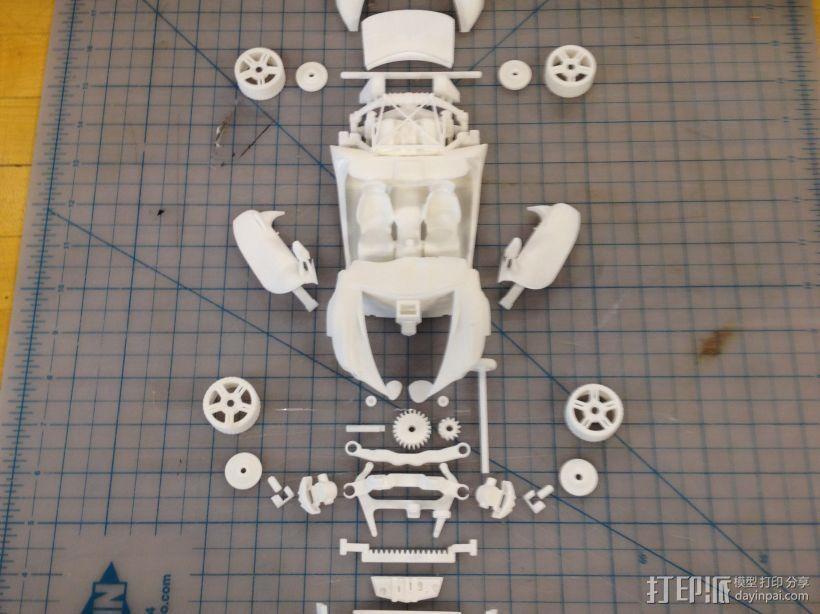 汽车组合 3D模型  图3