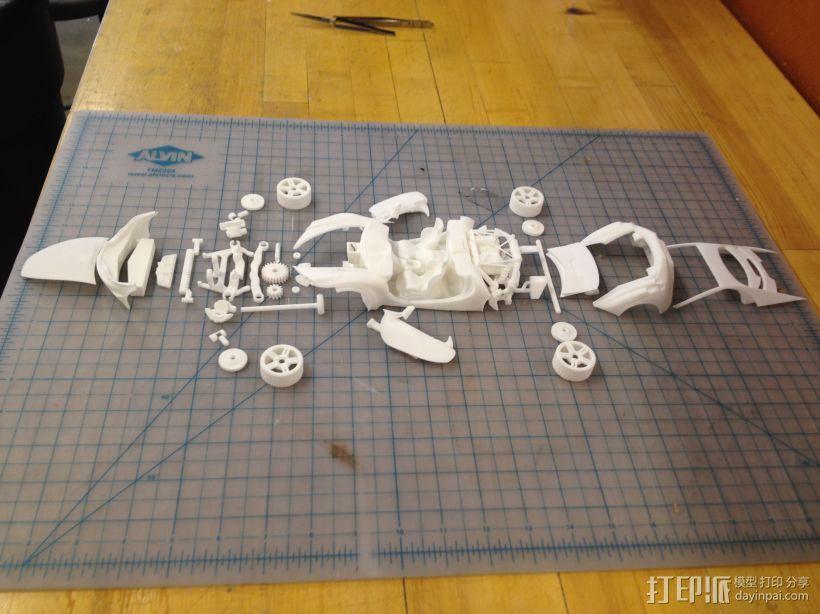 汽车组合 3D模型  图4