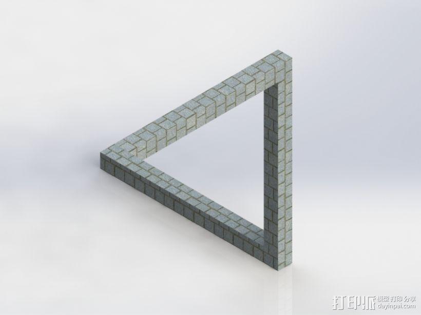 经典错觉系列 3D模型  图1