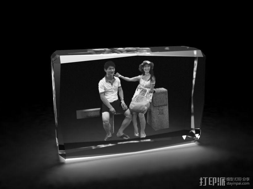 3d水晶内雕 3D模型  图1