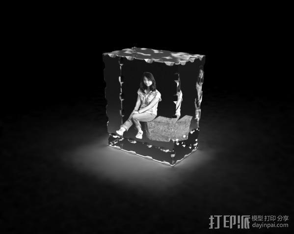 3d水晶内雕 3D模型  图2