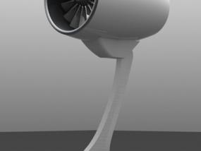 发动机构件 3D模型