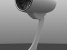 发动机构件 3D模型 图1