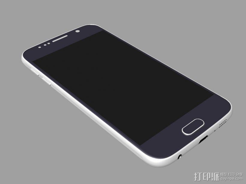 三星GALAXY S6 手机模型 抄数 3D模型  图1