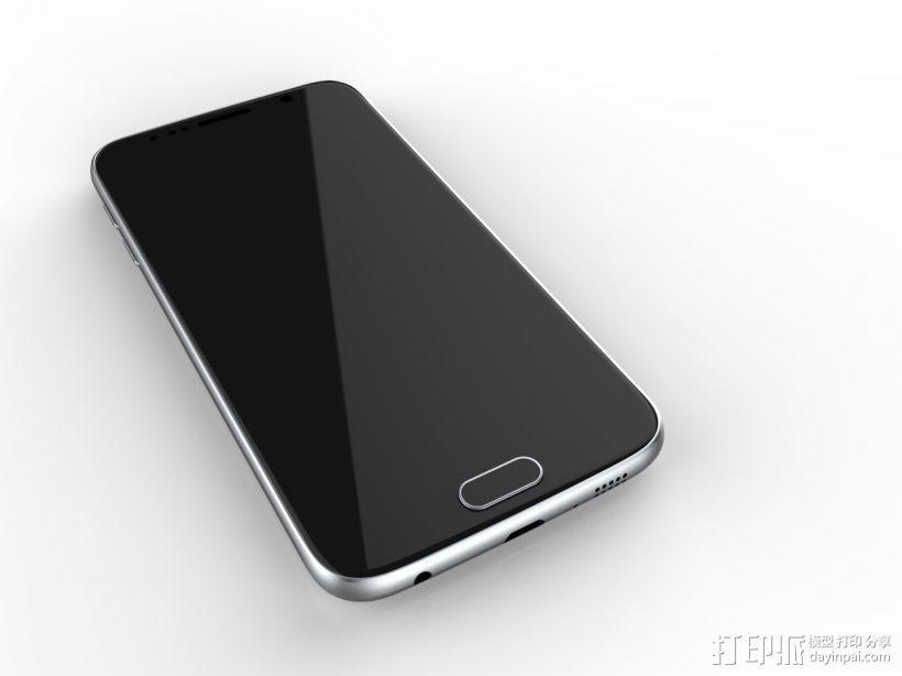 三星GALAXY S6 手机模型 抄数 3D模型  图2