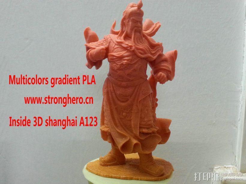 关公 3D模型  图1