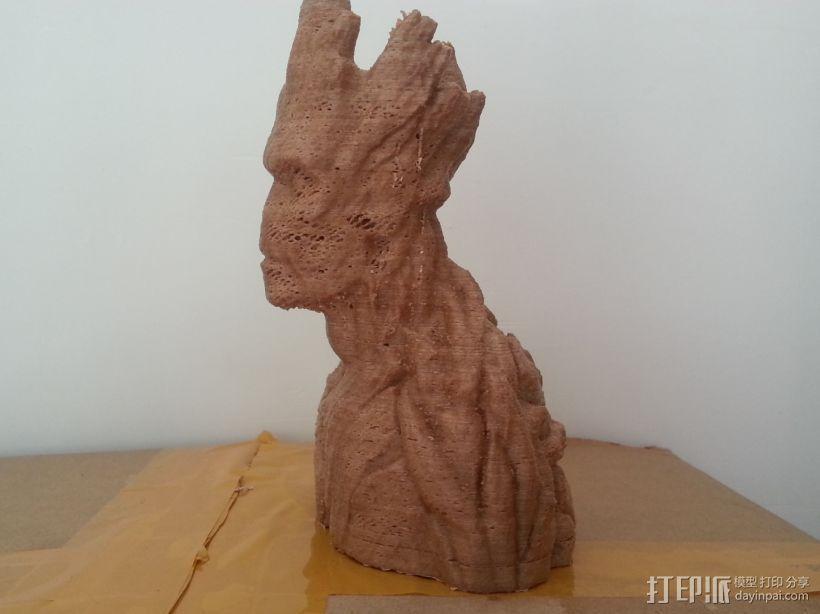 银河护卫队 I am Groot 3D模型  图1