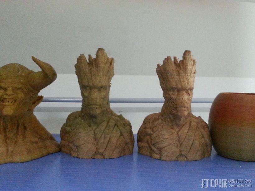 银河护卫队 I am Groot 3D模型  图3