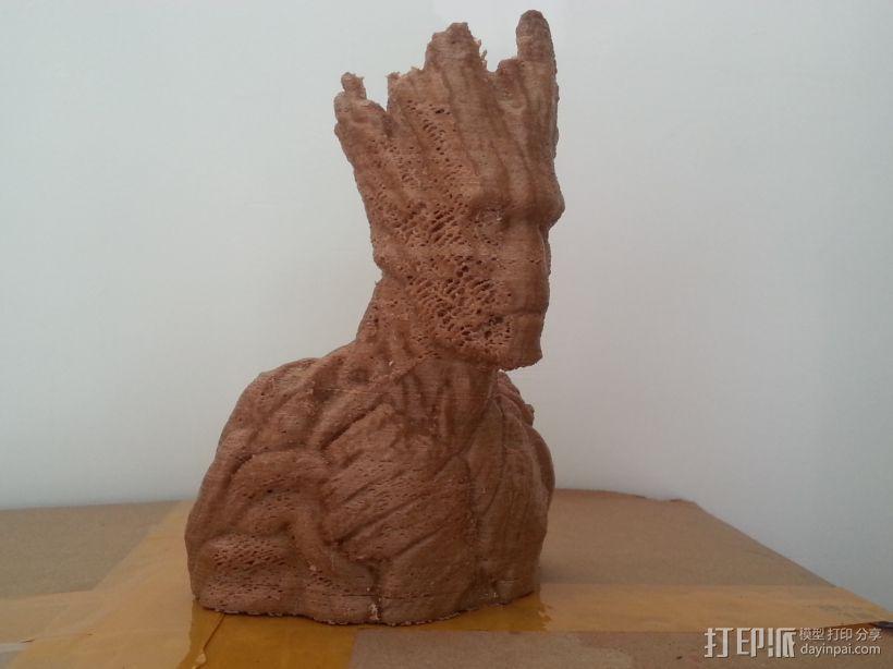 银河护卫队 I am Groot 3D模型  图2
