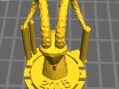 羊头雕塑 3D模型 图2