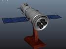 神舟飞船  卫星 摆件 3D模型 图4