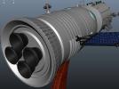神舟飞船  卫星 摆件 3D模型 图5