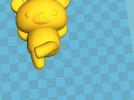 拉拉熊 3D模型 图3