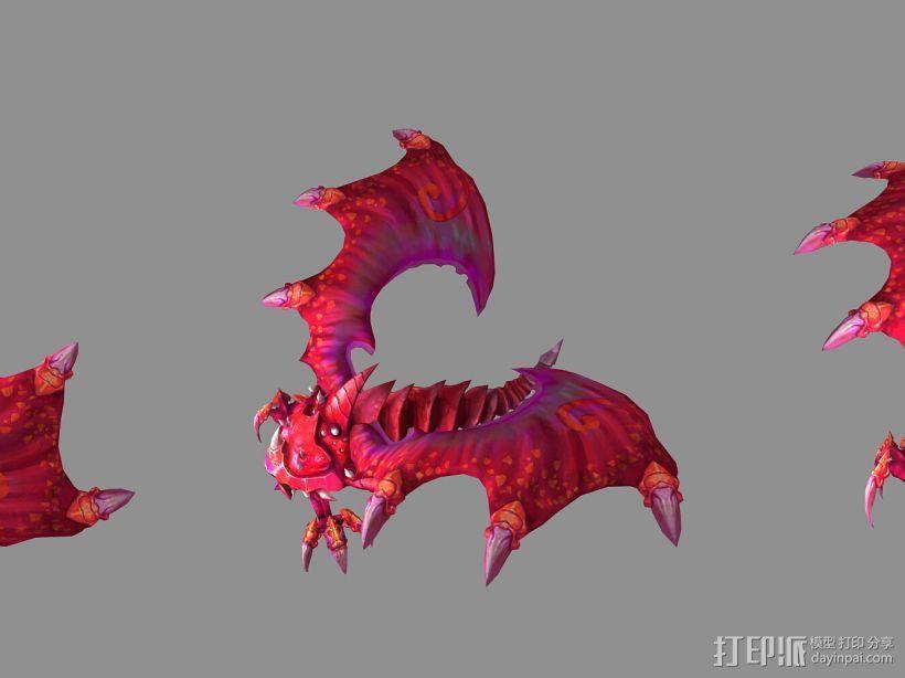 (混血灵魔)(血婴)(蓝魅猛犸) 3D模型  图1
