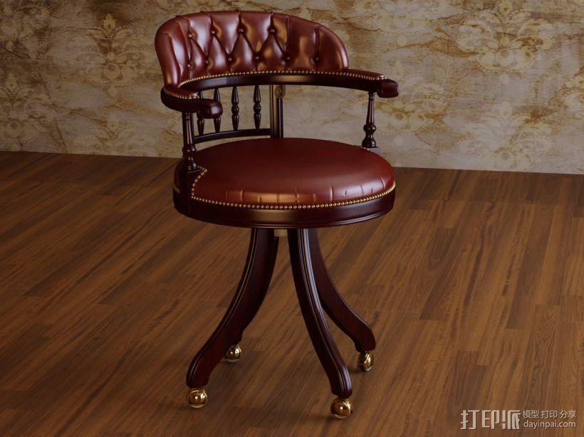 角椅 3D模型  图2