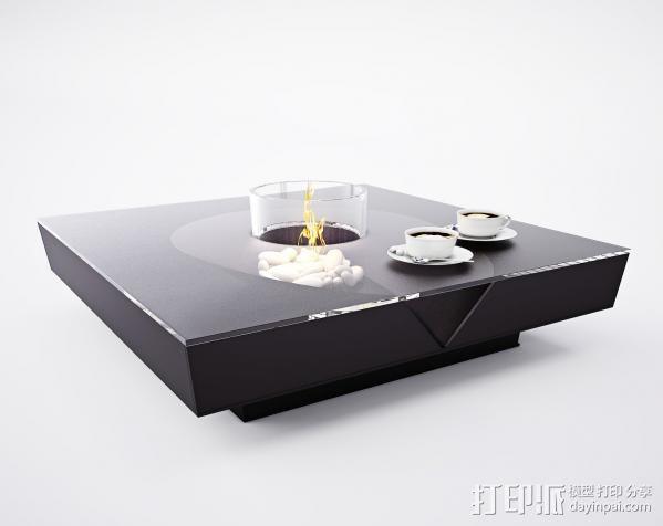 茶盘 3D模型  图1