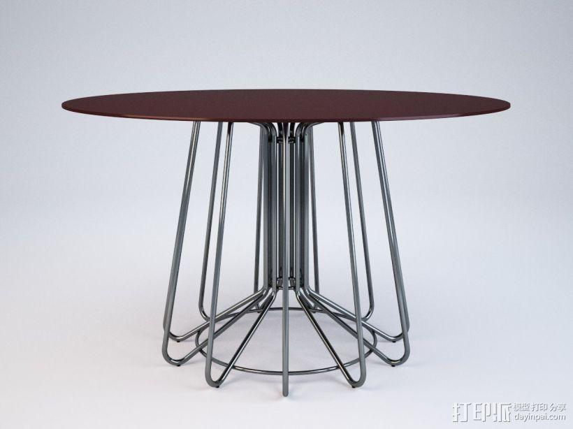 桌子 3D模型  图1