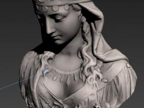 塑像 3D模型