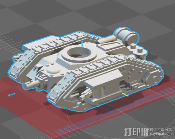 坦克 3D模型  图2