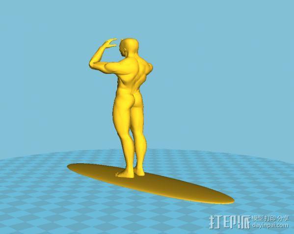 神奇四侠银 3D模型  图2