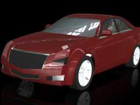 凯迪拉克 3D模型