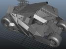 蝙蝠战车 3D模型 图2