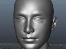 中国头 3D模型 图1