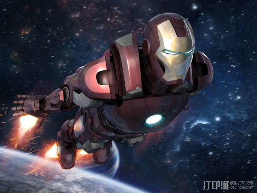 钢铁侠 3D模型  图1