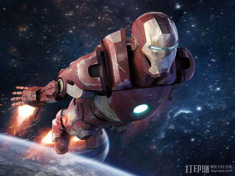 钢铁侠 3D模型  图2