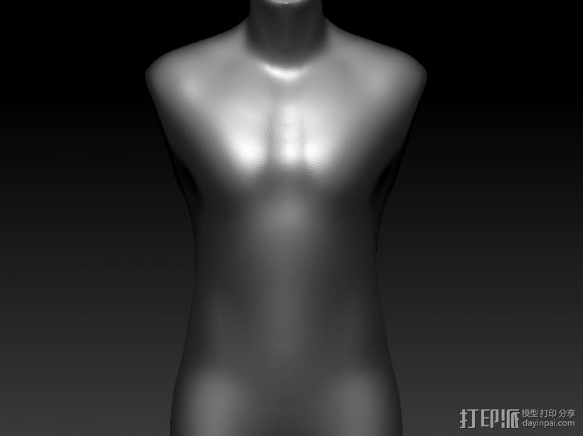 男人台 3D模型  图1