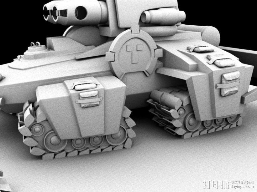 机械战场 3D模型  图1